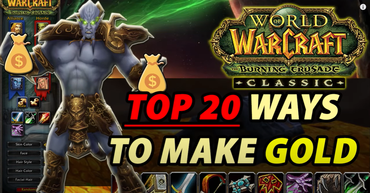 Top 20 Gold Farms YOU Need to Know About in TBC