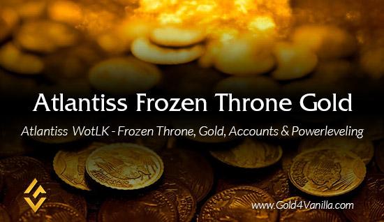 Buy Atlantiss Karazhan Gold & Accounts