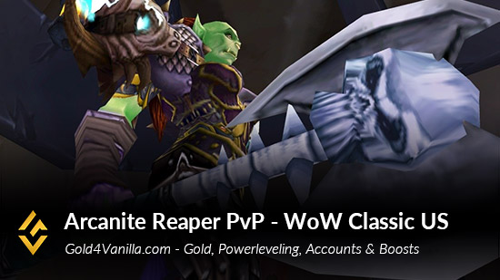 Realm Information for Arcanite Reaper PvP US