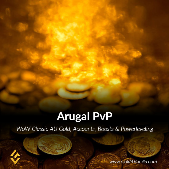 Gold, Power Leveling, Boosts, PvP, Quests and Achievements for Arugal PvP Australia & Oceania Realm - High PoP