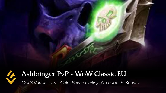 Realm Information for Ashbringer PvP EU