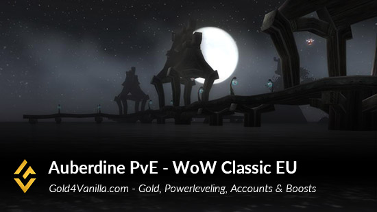 Realm Information for Auberdine PvE EU
