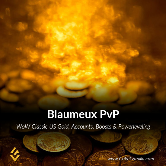 Gold, Power Leveling, Boosts, PvP, Quests and Achievements for Blaumeux PvP US Realm - High PoP