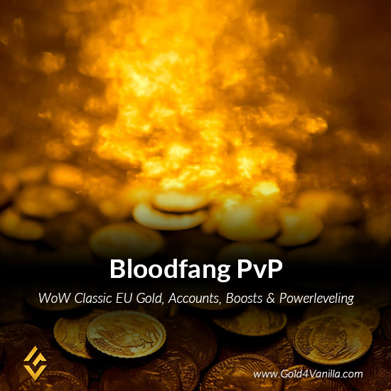 Gold, Power Leveling, Boosts, PvP, Quests and Achievements for Bloodfang PvP EU Realm - High PoP