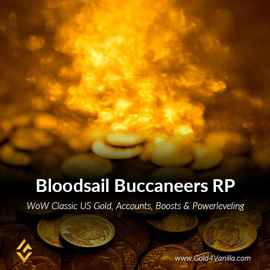 Gold, Power Leveling, Boosts, PvP, Quests and Achievements for Bloodsail Buccaneers RP US Realm - Low PoP
