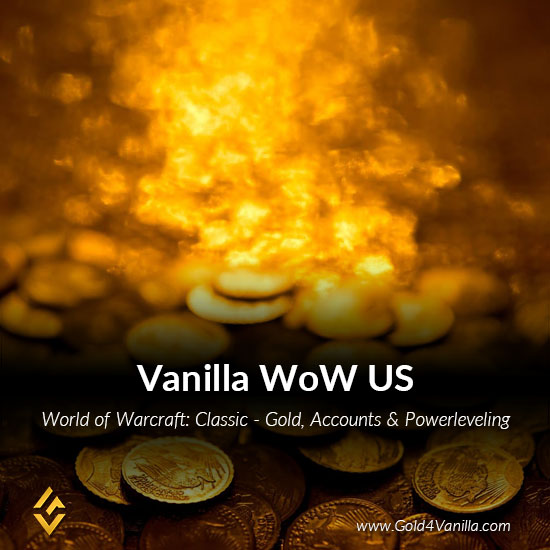 Classic Vanilla WoW Gold, Accounts & Powerleveling for North America (USA Servers)