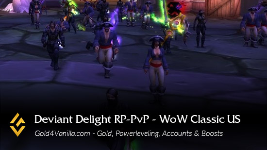 Realm Information for Deviate Delight RP-PvP US