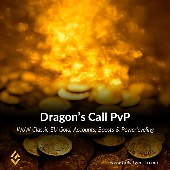 Gold, Power Leveling, Boosts, PvP, Quests and Achievements for Dragon's Call PvP EU Realm - High PoP