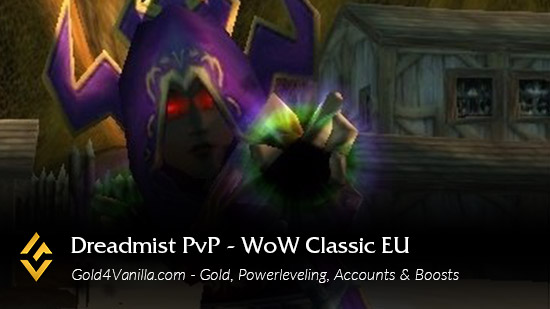 Realm Information for Dreadmist PvP EU