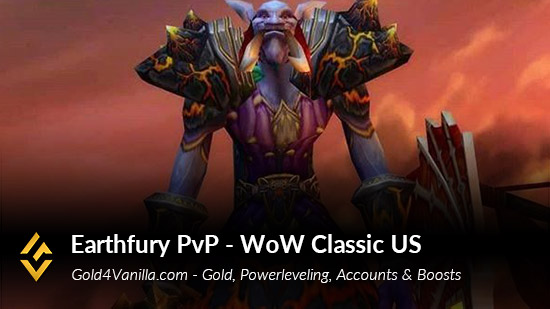 Realm Information for Earthfury PvP US