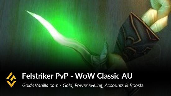 Realm Information for Felstriker PvP Australia & Oceania