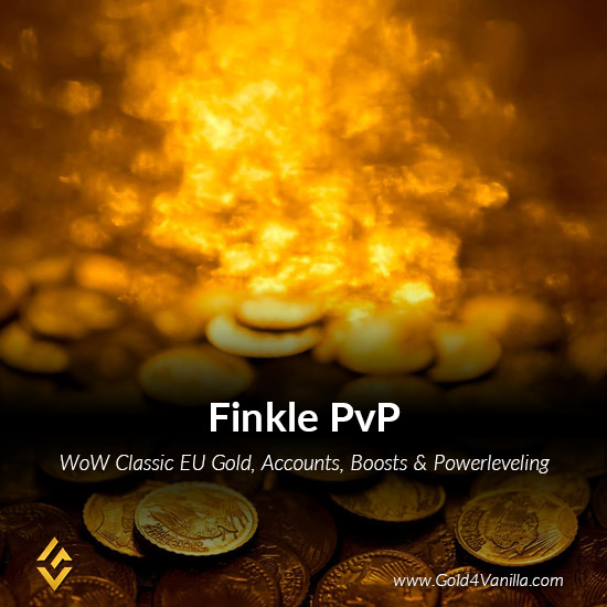 Gold, Power Leveling, Boosts, PvP, Quests and Achievements for Finkle PvP EU Realm - Medium PoP