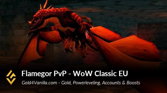 Realm Information for Flamegor PvP EU