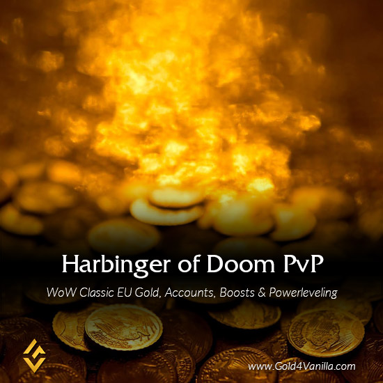 Gold, Power Leveling, Boosts, PvP, Quests and Achievements for Harbinger of Doom PvP EU Realm - Low PoP