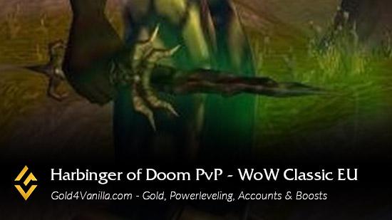 Realm Information for Harbinger of Doom PvP EU