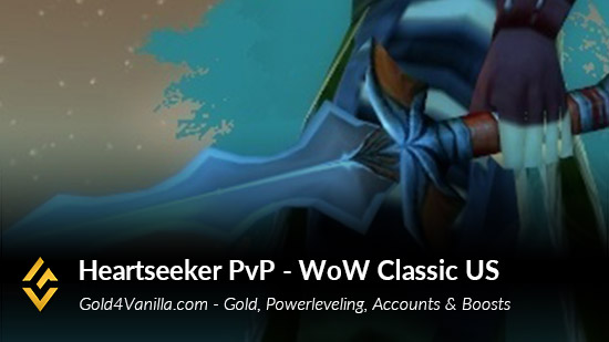 Realm Information for Heartseeker PvP US