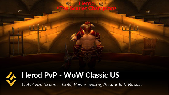 Realm Information for Herod PvP US