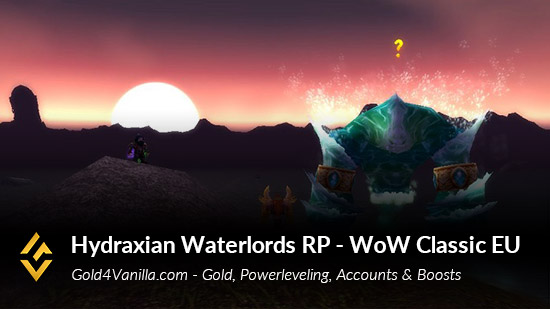 Realm Information for Hydraxian Waterlords RP EU