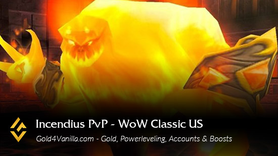 Realm Information for Incendius PvP US