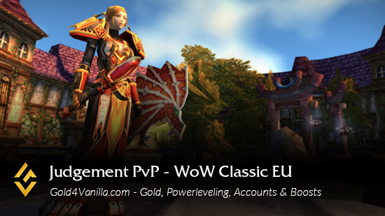 Realm Information for Judgement PvP EU