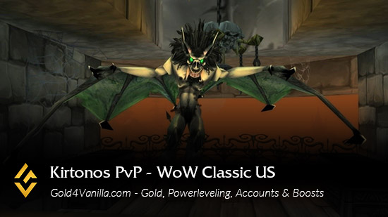 Realm Information for Kirtonos PvP US
