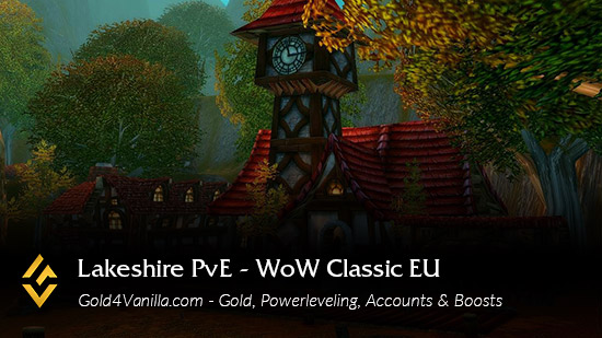 Realm Information for Lakeshire PvE EU