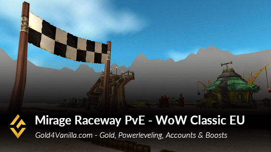 Realm Information for Mirage Raceway PvE EU