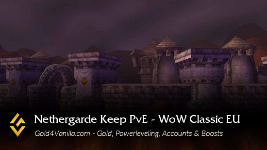 Realm Information for Nethergarde Keep PvE EU
