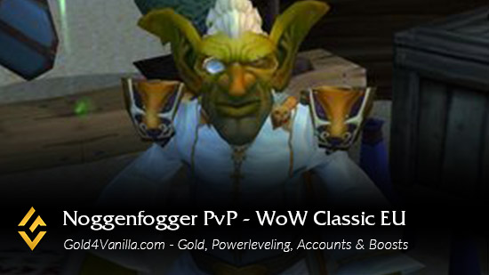Realm Information for Noggenfogger PvP EU