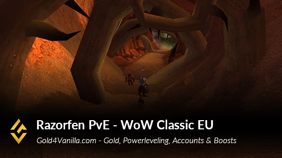 Realm Information for Razorfen PvE EU