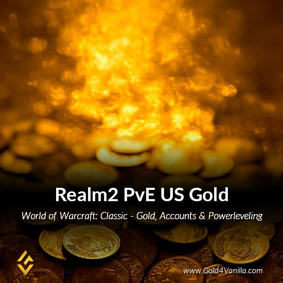 Gold, Power Leveling, Boosts, PvP, Quests and Achievements for Realm2 PvE US Realm - Low PoP