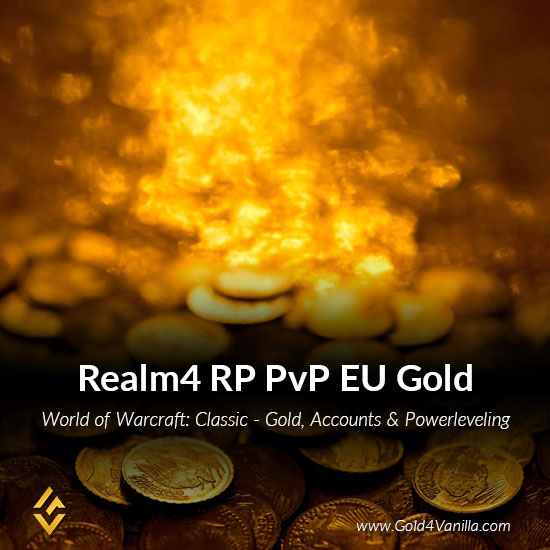 Gold, Power Leveling, Boosts, PvP, Quests and Achievements for Realm4 RP-PvP EU Realm - Medium PoP