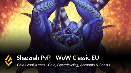 Realm Information for Shazzrah PvP EU