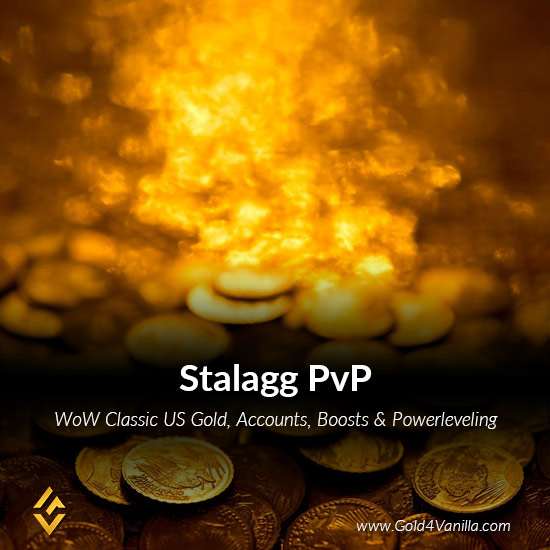 Gold, Power Leveling, Boosts, PvP, Quests and Achievements for Stalagg PvP US Realm - High PoP