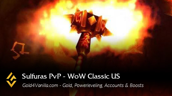 Realm Information for Sulfuras PvP US