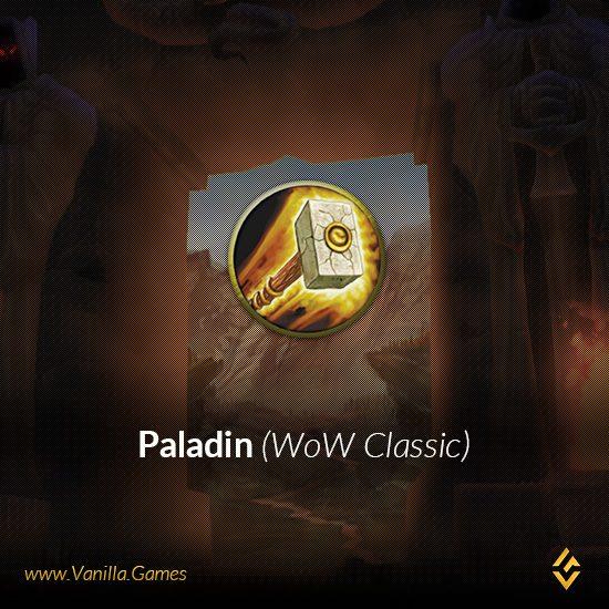 Buy Level 60 Human Paladin Male Sulfuron PvP EU WoW Classic from Gold4Vanilla.com (ID: EUSFR0073)