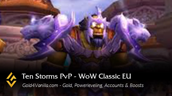 Realm Information for Ten Storms PvP EU