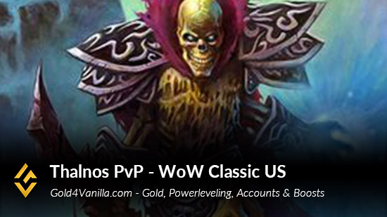 Realm Information for Thalnos PvP US