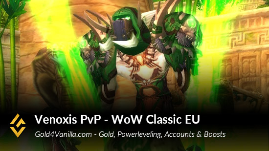 Realm Information for Venoxis PvP EU