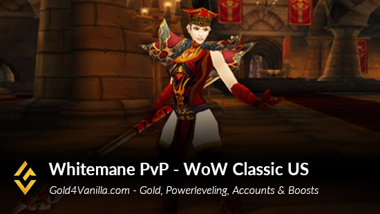 Realm Information for Whitemane PvP US