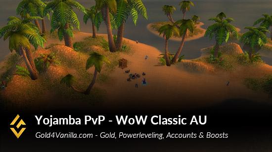 Realm Information for Yojamba PvP Australia & Oceania