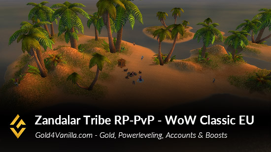 Realm Information for Zandalar Tribe RP-PvP EU