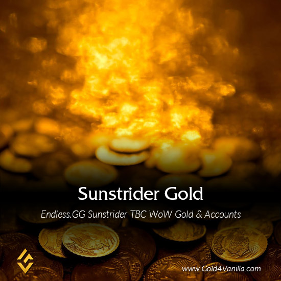 Buy Endless.gg Sunstrider Gold & Accounts