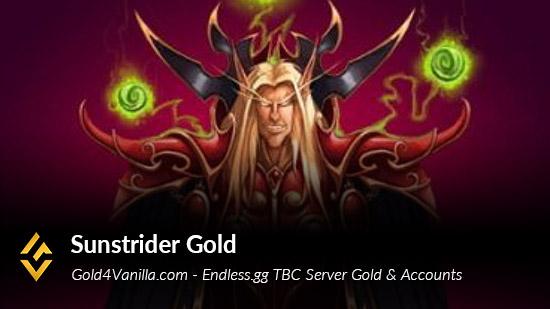 Endless.gg Sunstrider TBC Realm Info