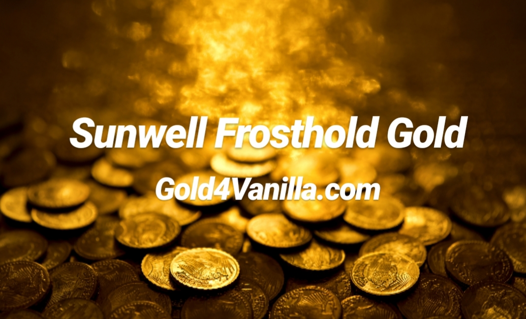 Buy Sunwell Frosthold Gold & Accounts