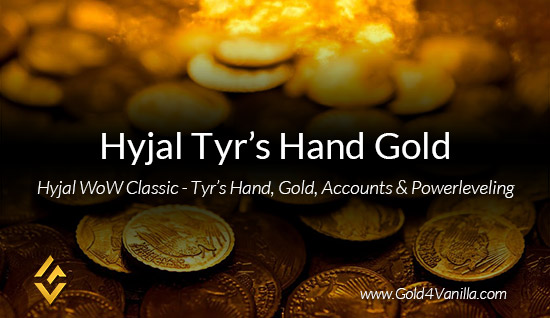Buy Hyjal Tyr's Hand Gold Powerleveling & Accounts