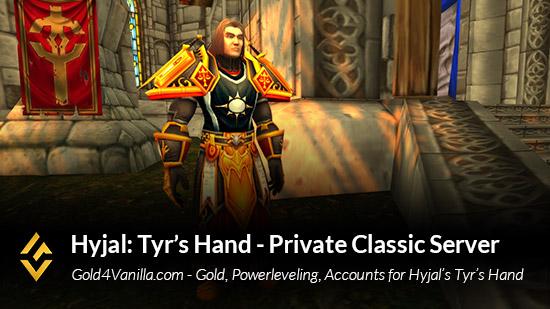 Hyjal Tyr's Hand Server Info