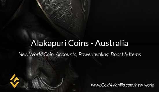 Alakapuri Coins. Buy New World Alakapuri Gold Coins. NW Alakapuri Coin and level 60 accounts for sale.