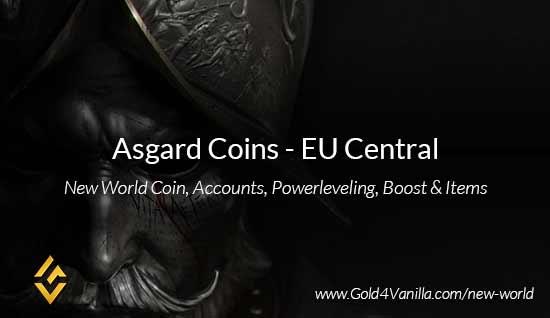 Asgard Coins. Buy New World Asgard Coins. NW Asgard Coin and level 60 accounts for sale.