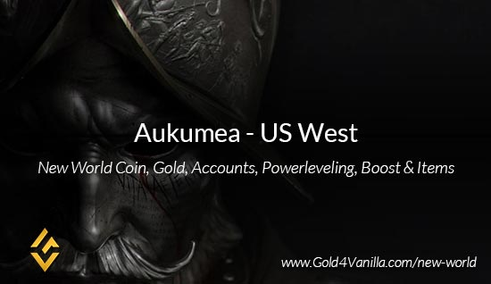 Aukumea Coins. Buy New World Aukumea Gold Coins. NW Aukumea Coin and level 60 accounts for sale.